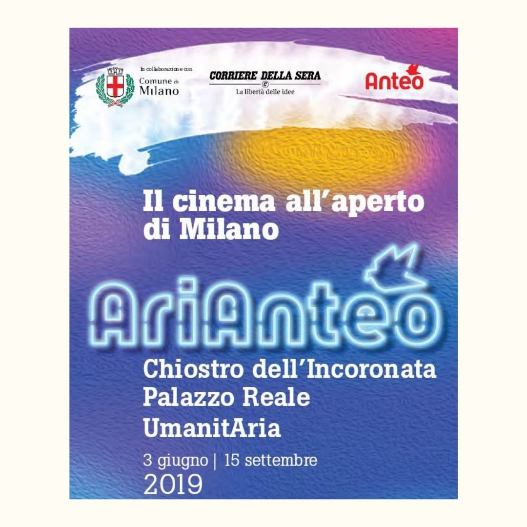 ARIANTEO, IL CINEMA ALL'APERTO DI MILANO - Properties & Life