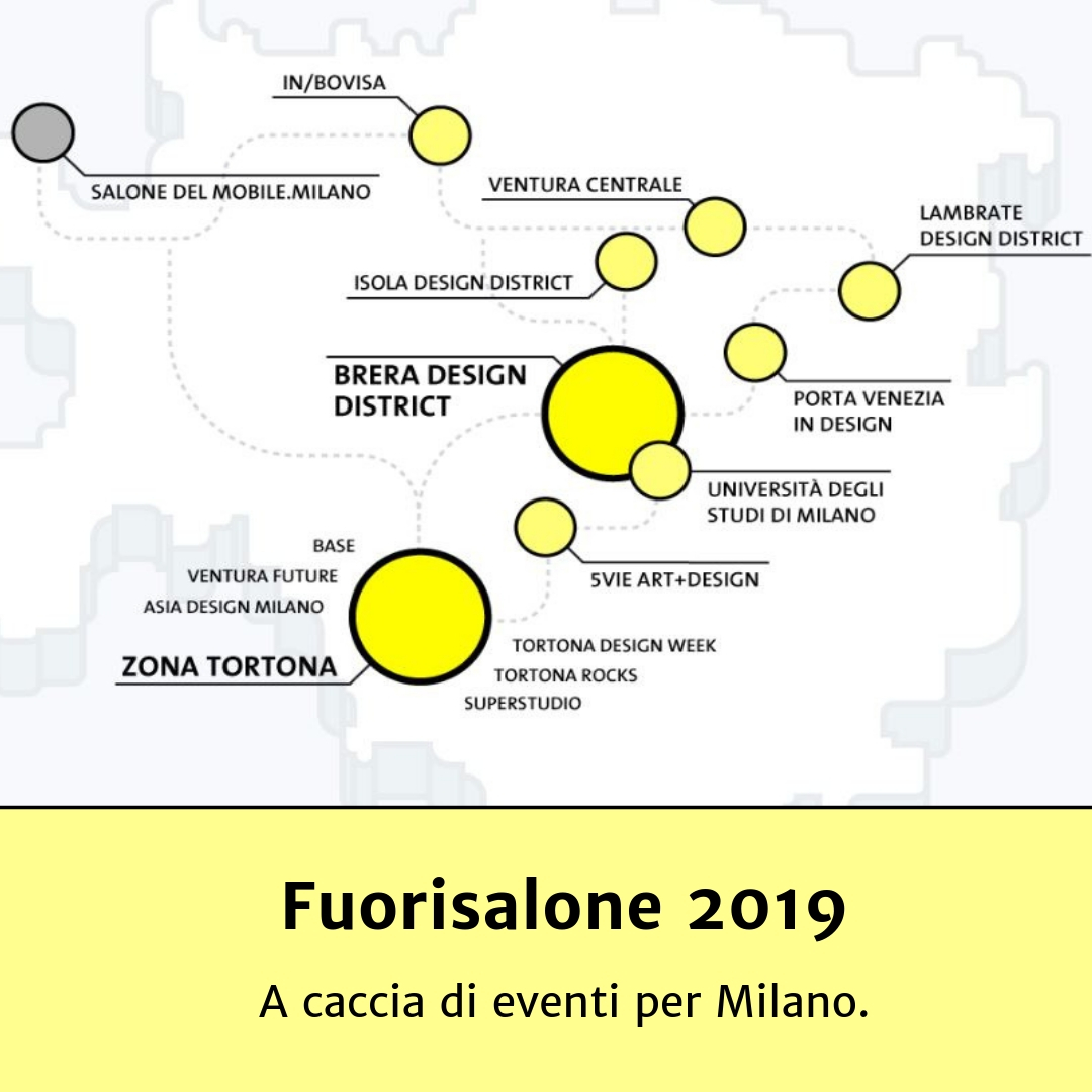FUORISALONE 2019: A CACCIA DI EVENTI PER MILANO