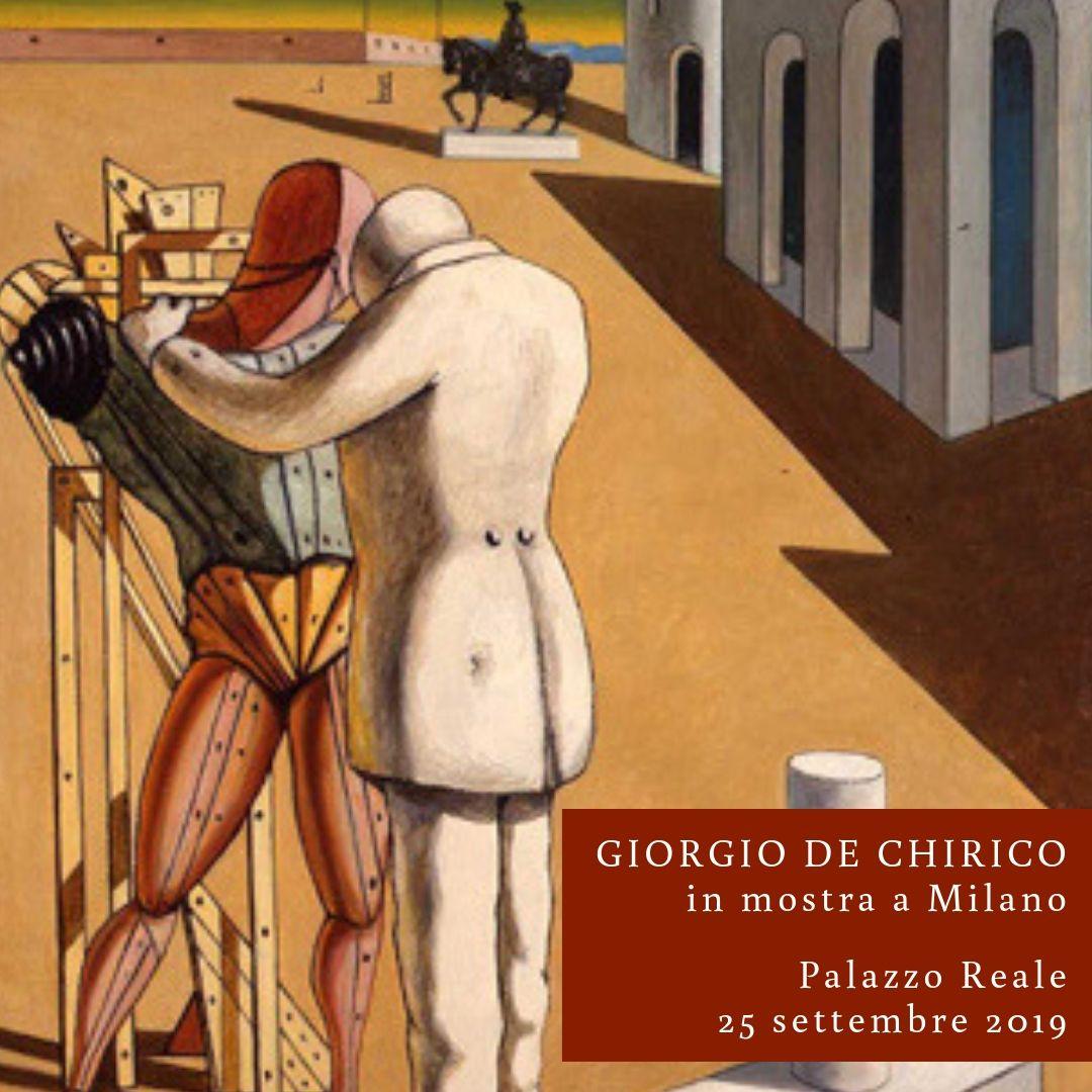 GIORGIO DE CHIRICO IN MOSTRA A MILANO
