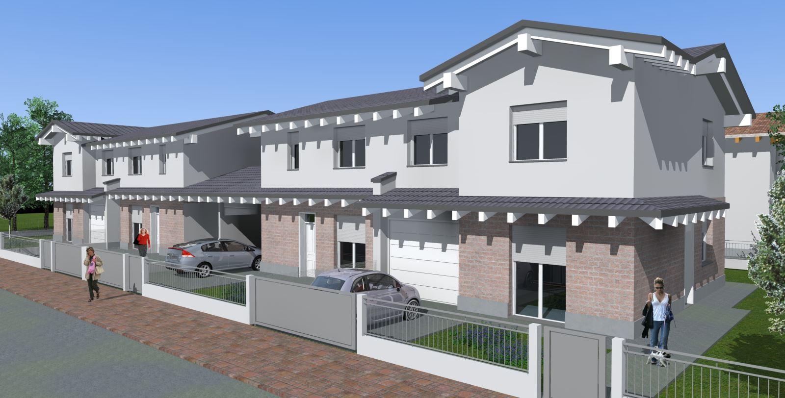Suzzara casa s a s for Villette moderne progetti