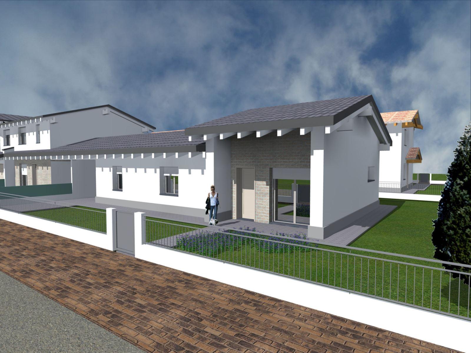Suzzara casa s a s for Progetto ville moderne nuova costruzione