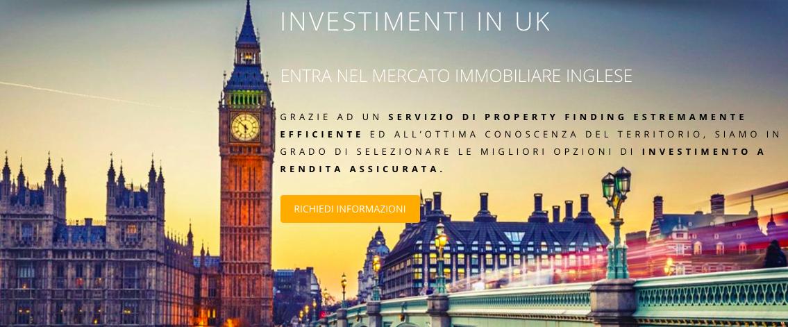 Investimenti immobiliari in Inghilterra