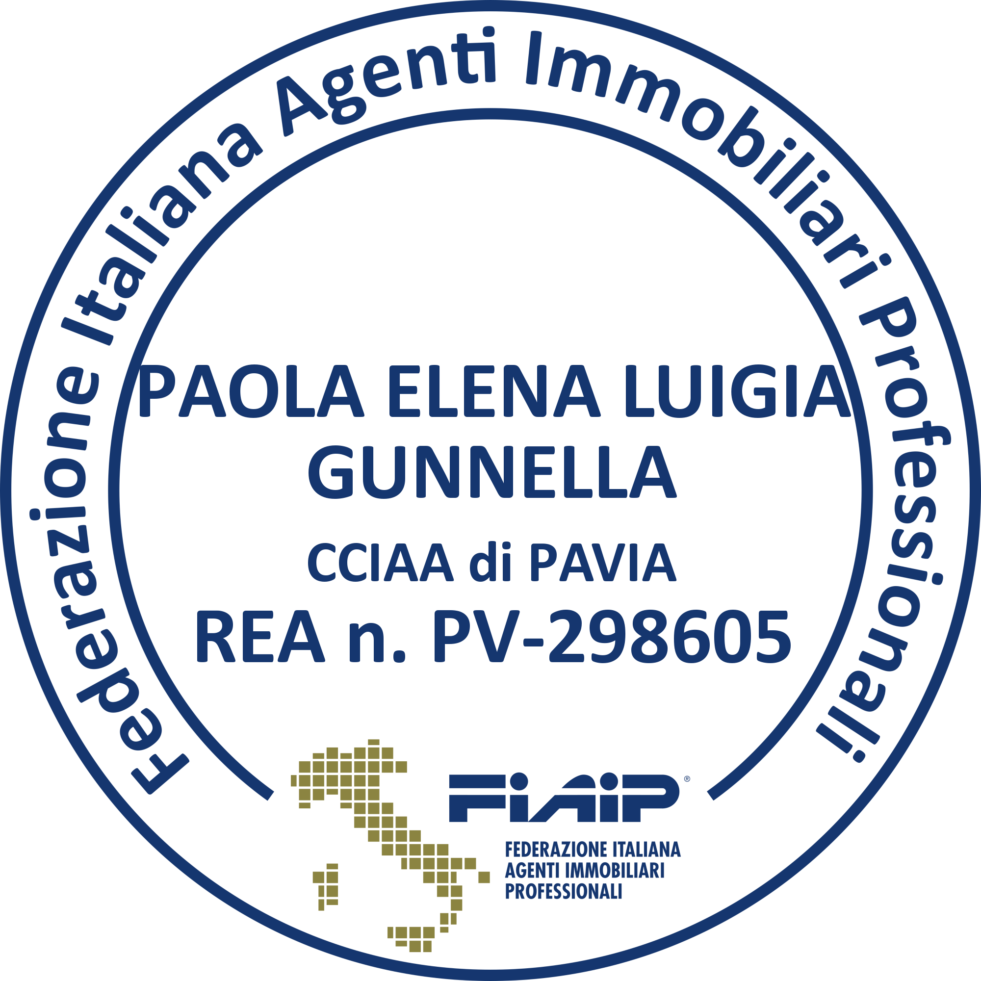 Timbro Agenzia Gunnella